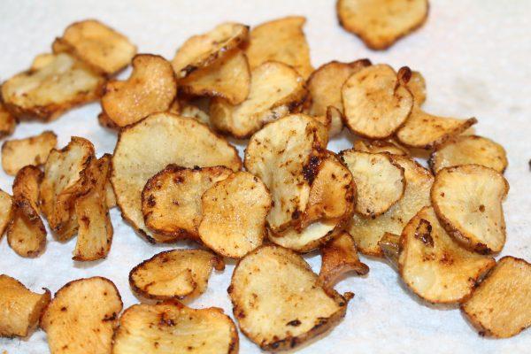 Topinambur-Chips
