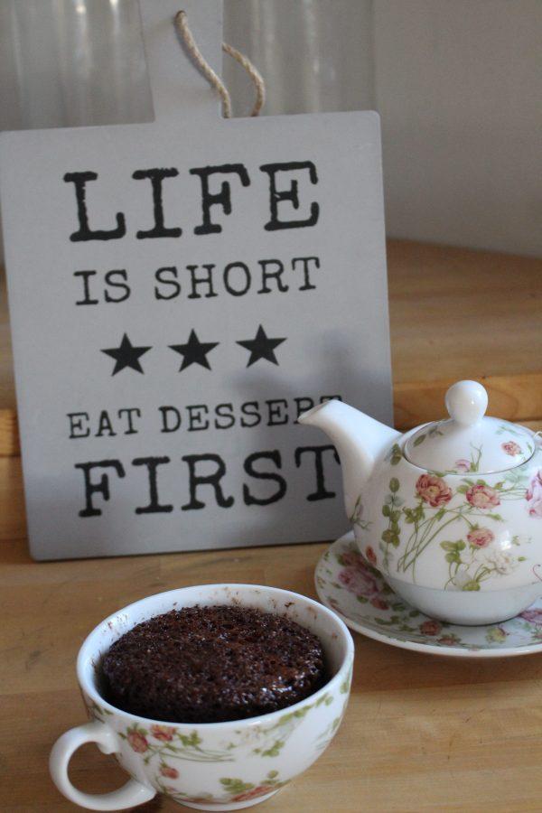 Mug Cake - Mikrowellenkuchen