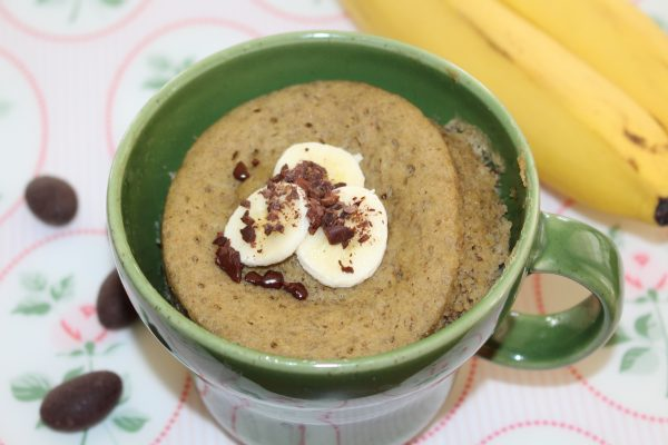 Bananen - Mug Cake