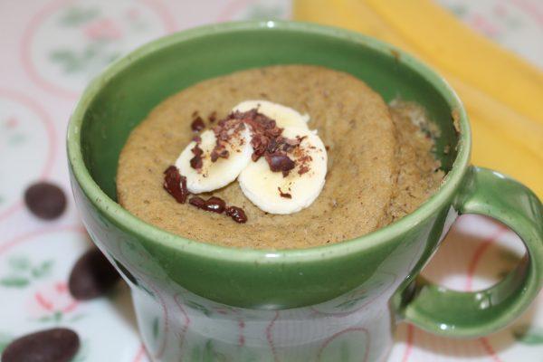 Bananen -Mug Cake