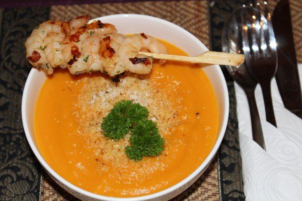 Karotten-Kokos-Ingwer-Suppe